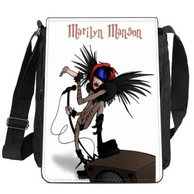 Сумка-планшет Marilyn Manson