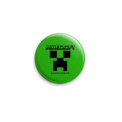 Значок 25мм Minecraft
