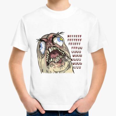 Детская футболка fffuuu