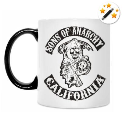 Кружка-хамелеон Сыны Анархии - Калифорния