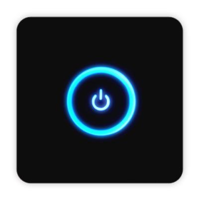 Костер (подставка под кружку) Power Button
