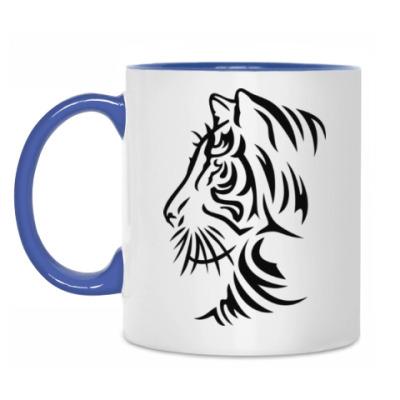 Кружка Узор Тигр
