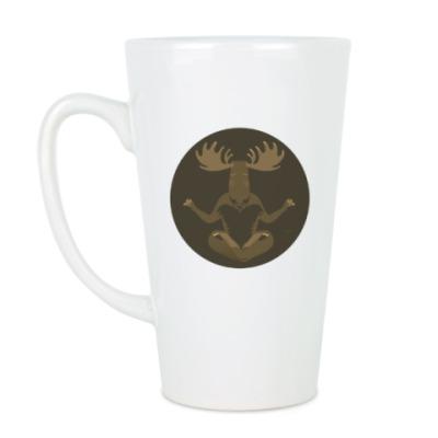 Чашка Латте Animal Zen: M is for Moose