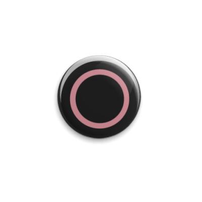 Значок 25мм Dualshock Circle