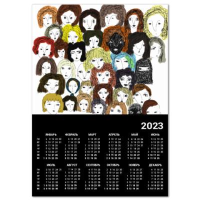 Календарь Женщины