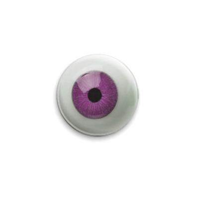 Значок 25мм  'Глаз'