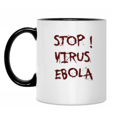 Кружка Stop Virus Ebola