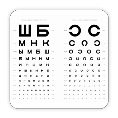 Костер (подставка под кружку) Зрение