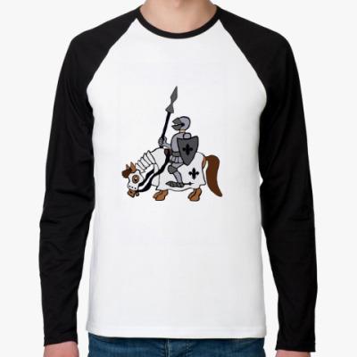 Футболка реглан с длинным рукавом Рыцарь