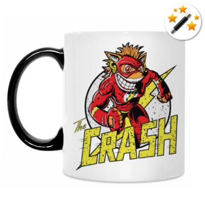 Кружка-хамелеон Crash x Flash