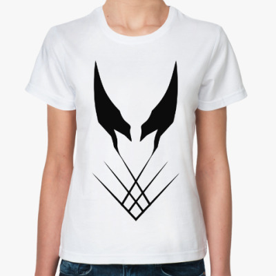 Классическая футболка  Росомаха (Люди Икс)