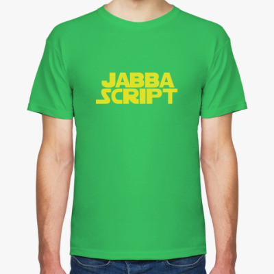 Футболка Jabba script