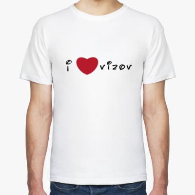 Футболка I love Vizov