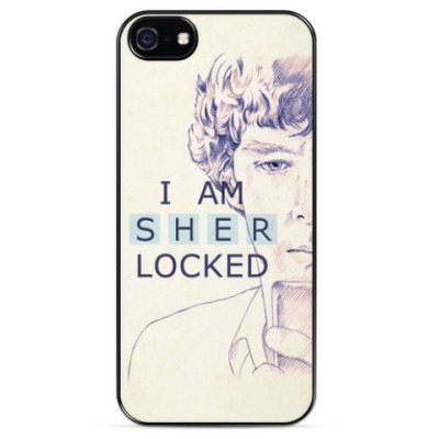 Чехол для iPhone I am Sherlocked