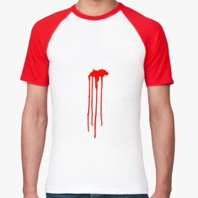 Футболка реглан Кровь
