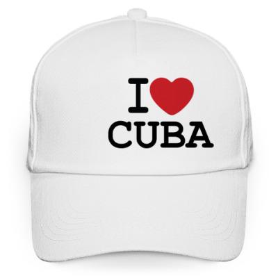 Кепка бейсболка I Love Cuba