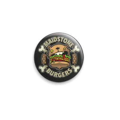 Значок 25мм Гамбургер