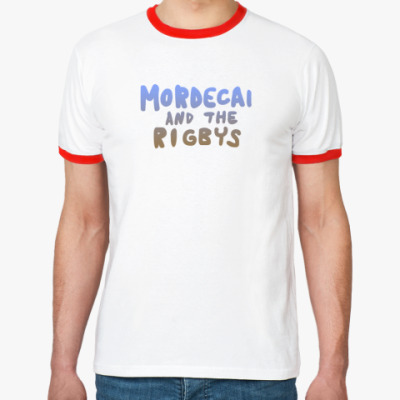 Футболка Ringer-T Mordecai and the Rigbys
