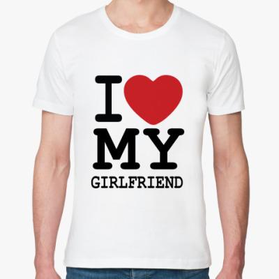 Футболка из органик-хлопка I Love My Girl