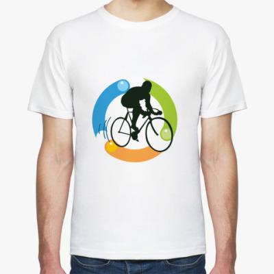 Футболка Велосипедист