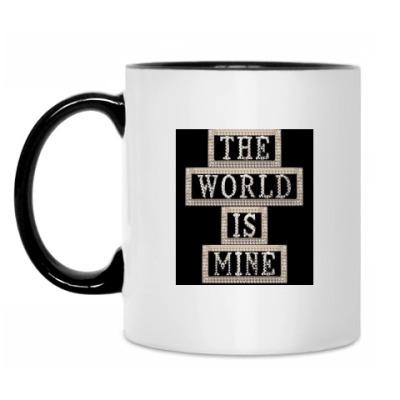 Кружка The world is mine