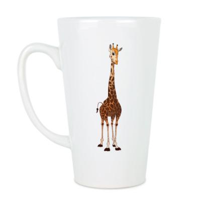 Чашка Латте Жираф