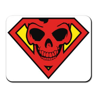 Коврик для мыши Skull Superman