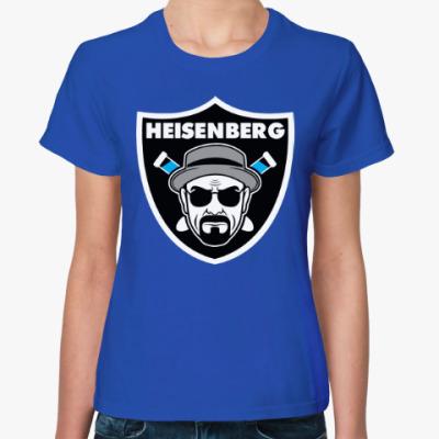 Женская футболка Heisenberg (Breaking Bad)
