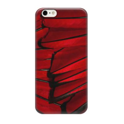 Чехол для iPhone 6/6s перья птиц