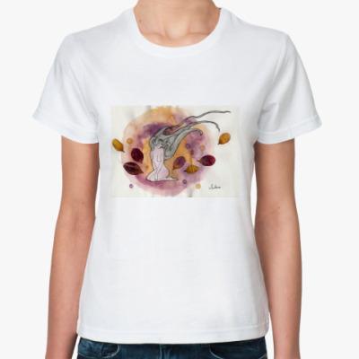 Классическая футболка Flower wind
