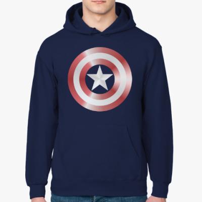 Толстовка худи Captain America