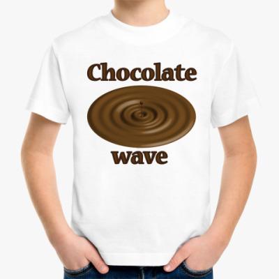 Детская футболка Chocolate wave