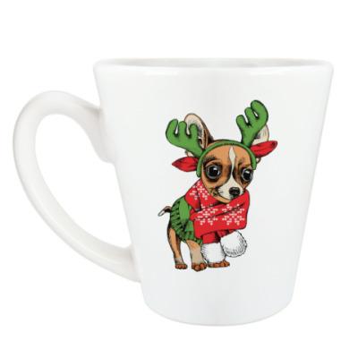 Чашка Латте Год собаки
