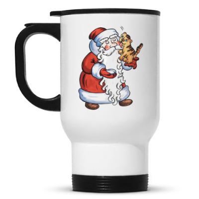 Кружка-термос Дед Мороз