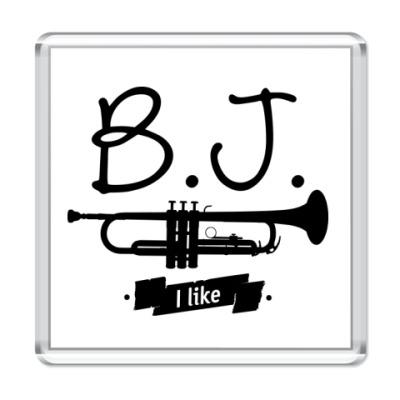 """Магнит """"B.J. I like"""""""