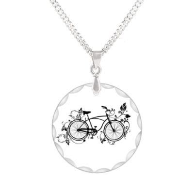 Кулон 'велосипед'