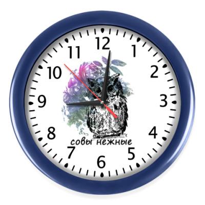 Настенные часы Совы Нежные