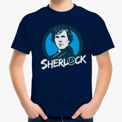 Детская футболка Sherlock Holmes