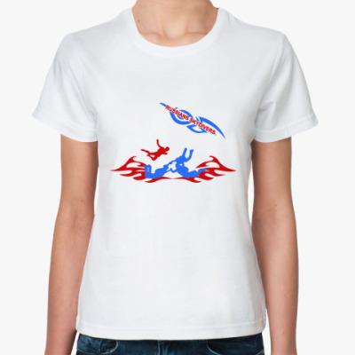Классическая футболка RUSSIANS SKYDIVERS