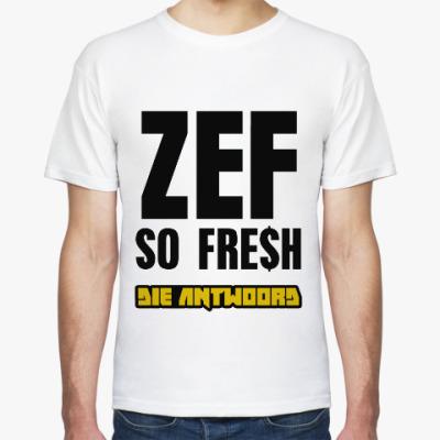 Футболка ZEF so fresh (DA)