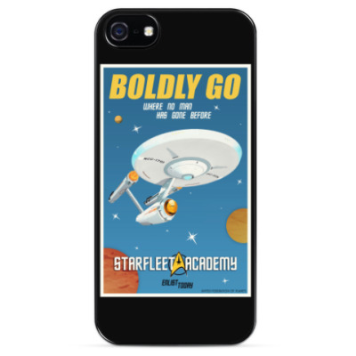 Чехол для iPhone Star Trek Boldly Go