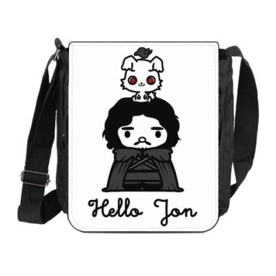 Сумка на плечо (мини-планшет) Hello Jon