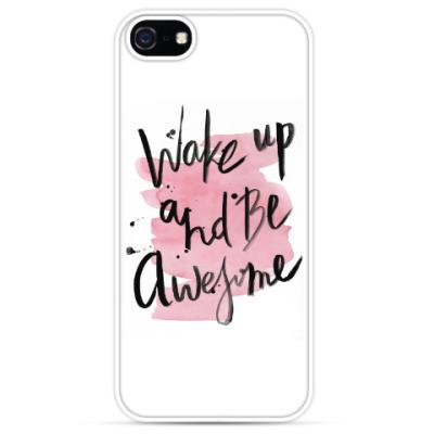 Чехол для iPhone Проснись и будь классным