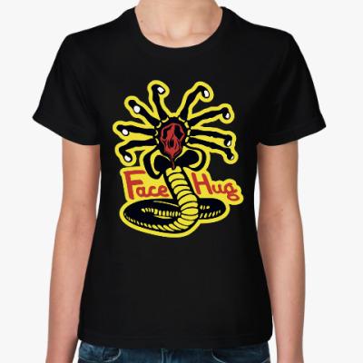 Женская футболка Обнимашки