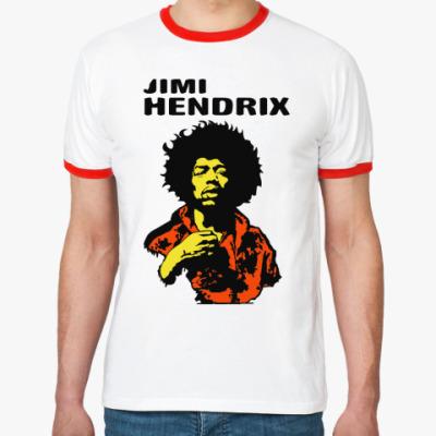 Футболка Ringer-T Jimmi Hendrix