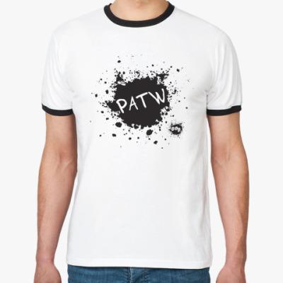 Футболка Ringer-T MAD PATW