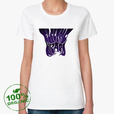 Женская футболка из органик-хлопка electric wizard