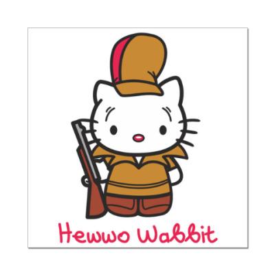 Наклейка (стикер) Hawwo Wabbit