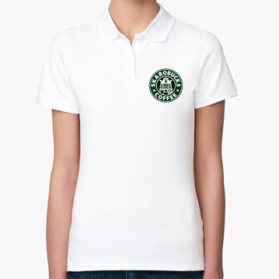 Женская рубашка поло SKAROBUCKS