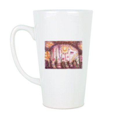 Чашка Латте Слоник